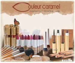 Сouleur caramel, французская декоративная органическая косметика