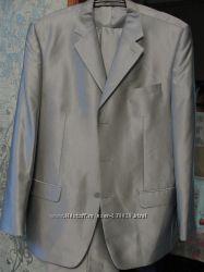 Костюм мужской серый размер 56