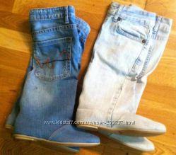 6b4bff0ff4fe1c Джинсовые сапоги. СП женской и мужской обуви - Kidstaff | №13037790