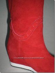 #4: замша красный