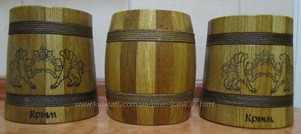 Емкости из дерева для сыпучих продуктов