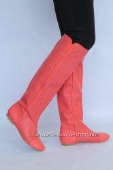 образец на ноге