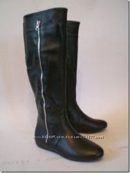 Сапоги кожаные - осень - зима