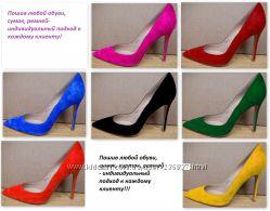 Пошив обуви по индивидуальному заказу