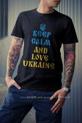 Патриотические футболки Украина