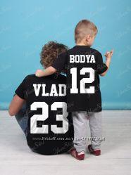 15cc8bd4eecd5 Детские именные футболки Высокое качество, 220 грн. Детские ...