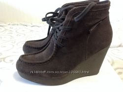 Замшевые ботинки Calvin Klein 39 размер