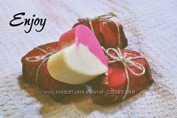 Натуральное мыло к  Дню Влюбленных