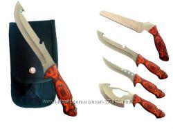 Туристический нож 4в1