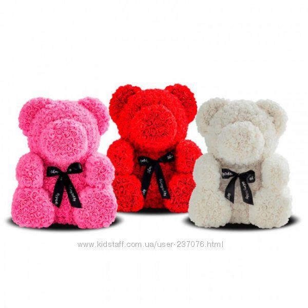 Подарочный медвежонок из роз Teddy 25 см