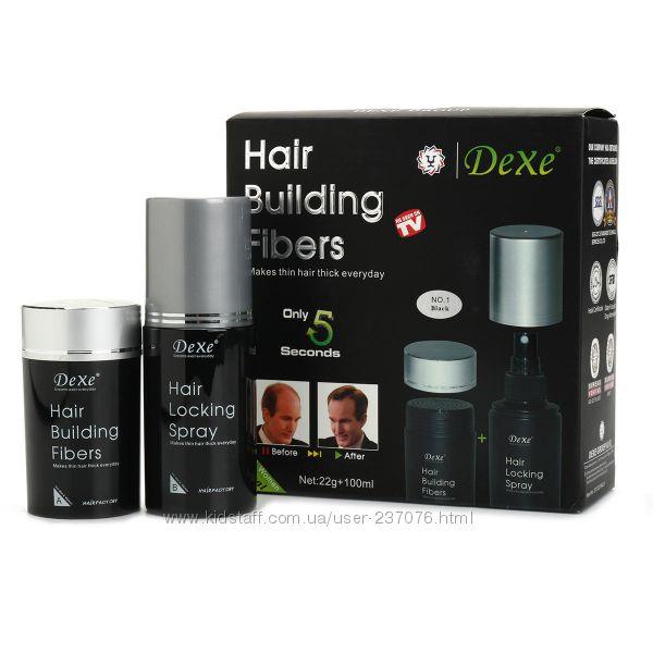 Краска для волос Hair Building Fibers Dexe 1