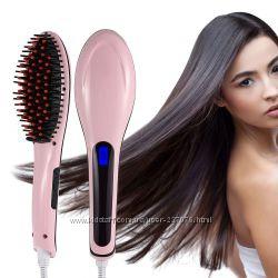 Расческа выпрямитель волос Fast Hair Straightener оригинал