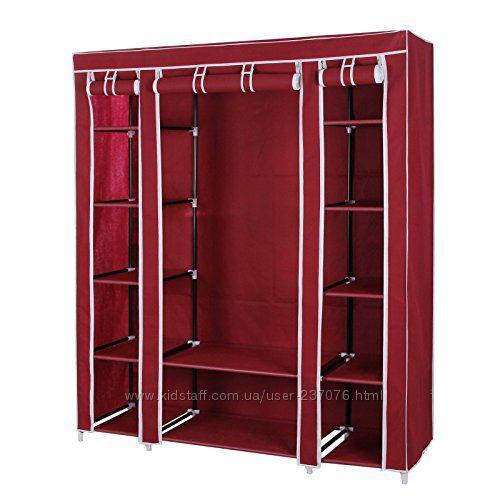 Шкаф тканевый 3 секции
