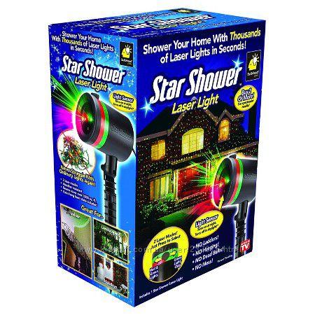 Лазерный проектор для освещения дома Star Shower