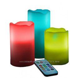 Электронные свечи с пультом Luma Candles