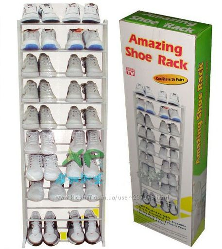 #1: Amazing Shoe Rack