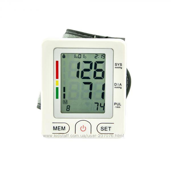Автоматический тонометр на запястье Blood Pressure Monitor U60EH