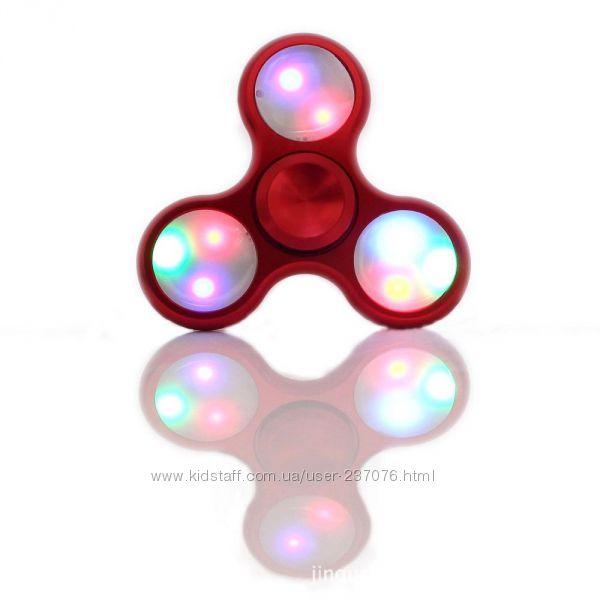 Светящийся спиннер Fidget Spinner