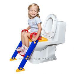 Детская накладка на унитаз с лестницей LOZ Toilet Ladder Chair
