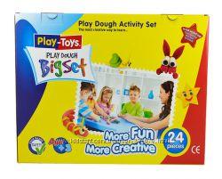 Натуральный пластилин моделин Play Dough Big Set