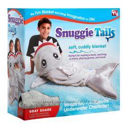 Детский плед мешок Snuggie Tails Shark