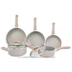 Набор посуды с мраморным покрытием Supretto Marble