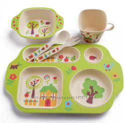 Экологическая детская посуда Bobei бамбук