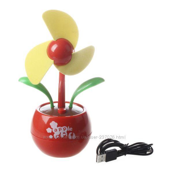 Настольный вентилятор Flower Fan Apple