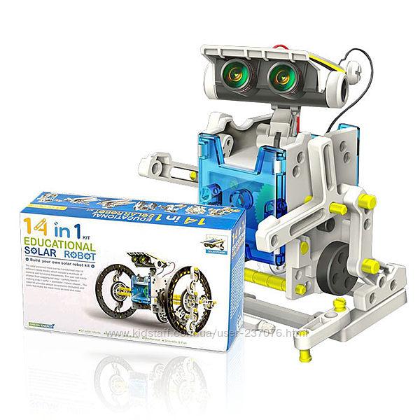 Электронный конструктор Educational Solar Robot 14in1