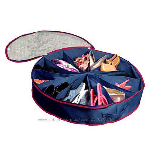 Подкроватный органайзер для обуви&nbspShoe Go Round