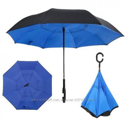 Стильный ветрозащитный зонт Антизонт