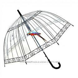 Женский зонт с попугаем Birdcage Umbrella