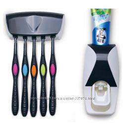 Дозатор зубной пасты с держателем щеток Warmlife