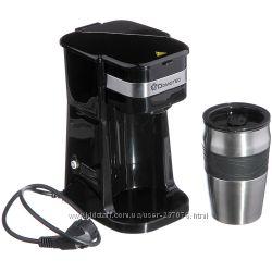 Мини кофеварка с термокружкой Domotec MS-0709