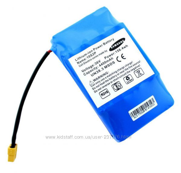 Сменный аккумулятор для гироскутера Samsung&nbsp10S2P
