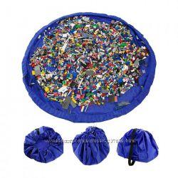 Игровой детский коврик для игрушек Queens Toy Storage Bag
