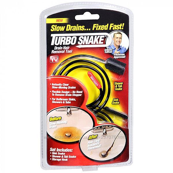 Гибкий трос для чистки труб Turbo Snake