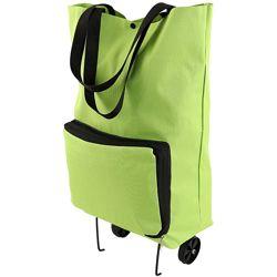 Складная хозяйственная сумка на колесах Calpak