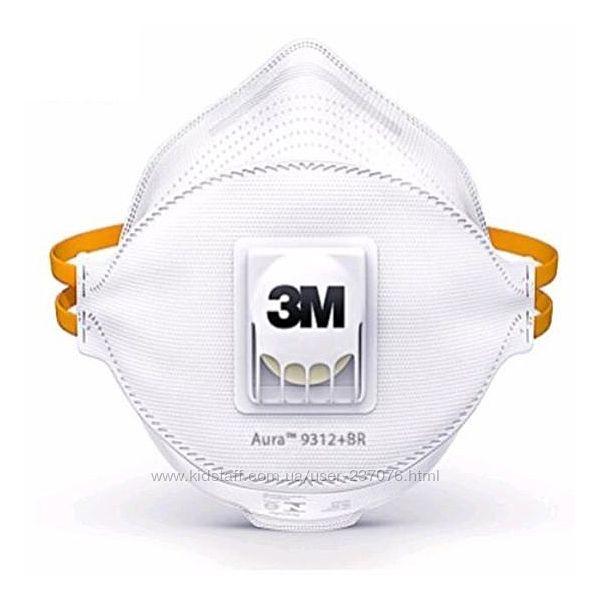 Защитная маска против вирусов 3M AURA 9312 FFP1