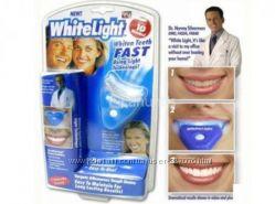 Белоснежные зубы с White light Вайт Лайт