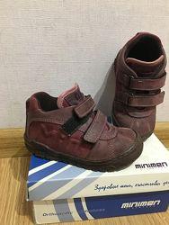 демисезонные ботиночки minimen