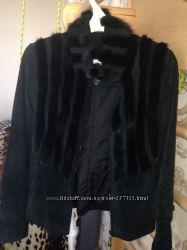 Натуральная замшевая куртка осень-весна