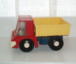 Винтаж игрушка самосвал грузовик машинка Norma СССР клеймо цена