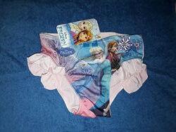 Плавки Холодное сердце на девочку 2-8 лет, Дисней Фрозен, Анна и Эльза.