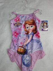 Купальник Принцесса София на девочку 6 лет, новый купальничек Disney.