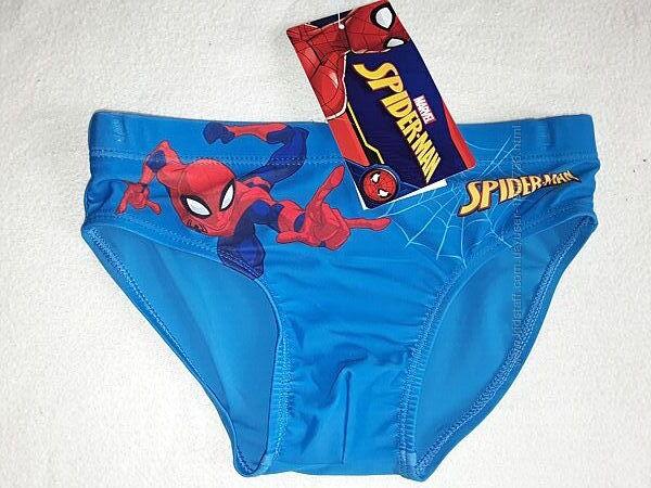 Плавки Спайдермен для мальчика 2-8 лет, хорошие красивые плавочки.