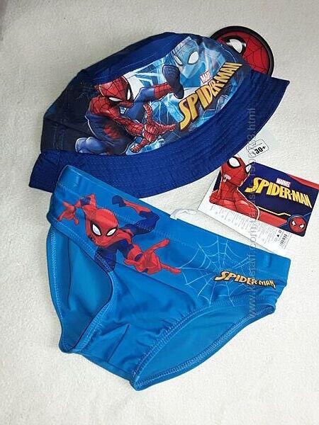Пляжный набор для мальчика плавки и панамка на 2-7 лет, цена за набор.