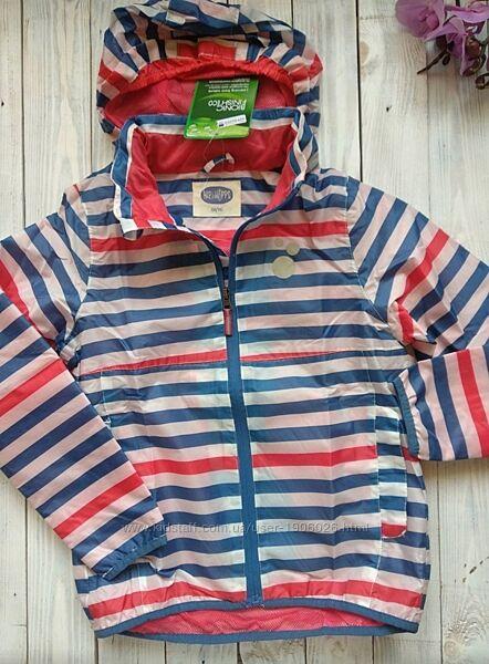 Дождевик курточка для девочки, Hip hoppsр. 134, Новая