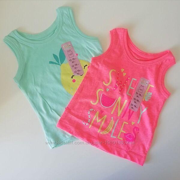 Майки, футболки для девочек Primark, 3-24 мес
