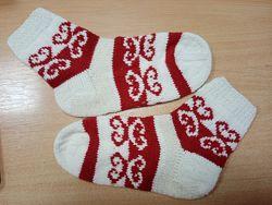 В&acuteязані шкарпетки з орнаментом
